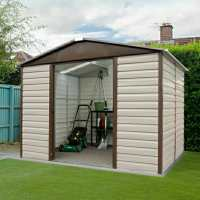 10ft x 12ft5 Yardmaster 1012TBSL Metal Shed (3.03m x 3.78m)