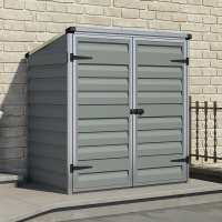 5ft x 3ft Palram Dark Grey Voyager Shed (1.39m x 0.9m)
