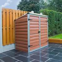 5ft x 3ft Palram Amber Voyager Plastic Shed (0.9m x 1.39m)