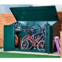 7ft x 3ft Asgard Access 4 Bike Metal Storage Shed (2.13m x 0.83m)