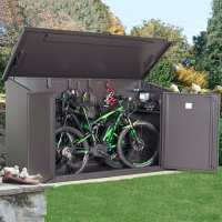 7ft7 x 3ft4 Asgard Access Premium Electric Bike Storage Shed (2.3m x 1.05m)