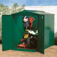 5ft x 7ft Asgard Centurion Police Approved Security Metal Shed (1.52m x 2.18m)