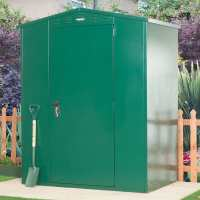 5ft2 x 3ft7 Asgard Flexistore 1511 Metal Shed (1.58m x 1.1m)
