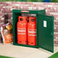 Asgard 2 Gas Bottle (19kg) Metal Storage Unit