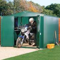 7ft4 x 8ft11 Asgard Gladiator Motorbike Garage (2.24m x 2.72m)