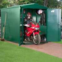 5ft2 x 9ft Asgard Secure Motorbike Garage (1.58m x 2.74m)