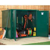 5ft x 3ft Asgard Vangard Metal Storage Shed with 2 Point Locking (1.54m x 0.95m)