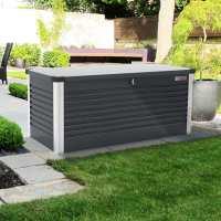 6ftx2ft5 (1.8x0.75m) Trimetals Anthracite Protect.a.Box - Premium Metal Garden Storage