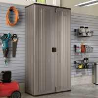 3ft4 x 1ft8 Suncast Mega Tall Garage Storage Cabinet (1m x 0.54m)