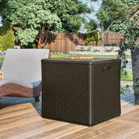 Suncast Deck Box - Plastic Garden Storage Cube