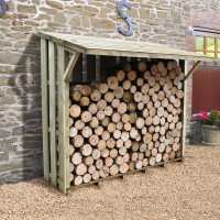 Forest 7ftx3ft (2.12x1.17m) Xtra Large Easy Access Sherwood Log Store