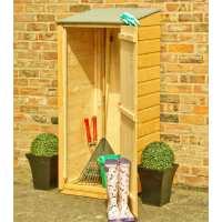 2ft x 2ft  Wooden Garden Storage Unit - Shire Garden Store 22
