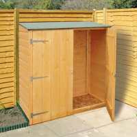 4ft x 2ft Shire Wooden Garden Storage Unit (1.19x0.59m)