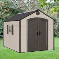 8ft x 10ft Lifetime Special Edition Heavy Duty Plastic Shed (2.43m x 3.05m)