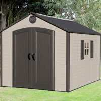 8ft x 12.5ft Lifetime Special Edition Heavy Duty Plastic Shed (2.43m x 3.81m)