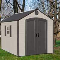 8ft x 15ft Lifetime Special Edition Heavy Duty Plastic Shed (2.43m x 3.81m)
