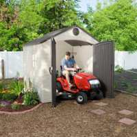 8ft x 7.5ft Lifetime Special Edition Heavy Duty Plastic Shed (2.43m x 2.28m)