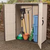 4ft x 2ft Lifetime Vertical Plastic Garden Storage Box (1.37m x 0.7m)