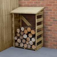 3ft x 2ft Forest Slatted Log Store (0.9m x 0.57m) - Small