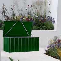 5ftx3ft (1.5x0.9m) Lotus Heritage Green Cushion Storage Box