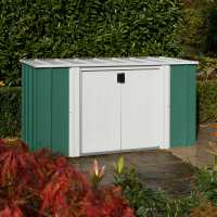 6ft x 3ft Rowlinson Metal Storette - Garden Storage (1.7m x 0.92m)
