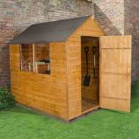 7ft x 5ft Forest Overlap Apex Dip Treated Wooden Shed (2.11m x 1.54m)