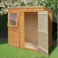 6ft x 4ft Shire Shiplap Pent Wooden Garden Shed