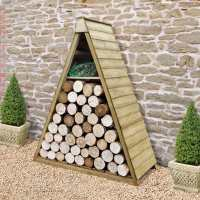 Forest 5ftx2ft (1.52x0.61m) Alpine Log Store