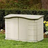 5ft x 2ft6 Rubbermaid Large Horizontal Plastic Storage Box (1.52m x 0.81m)