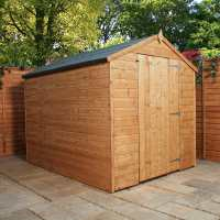 3ft x 2ft Windsor wooden Sentry Box - Garden Shed (1.12m x 0.63m)