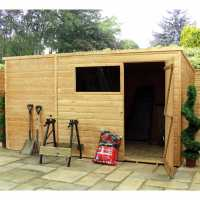 6ft7 x 2ft8 (2.01x0.82m) Windsor Wooden Bike & Garden Storage Shed