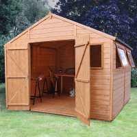10ft x 10ft Windsor Groundsman Wooden Workshop Shed (3.18m x 3.11m)