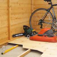1ft8 (500mm) Bull Security StrongHold Underfloor Shed Locking Kit