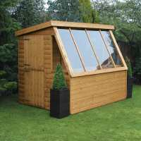 10ft x 8ft Traditional Wooden Potting Garden Shed with 8ft Gable (3.05m x 2.43m)