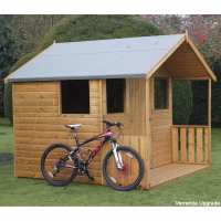 8ft x 8ft Traditional 8ft Cabin Garden Shed (2.44m x 2.44m)
