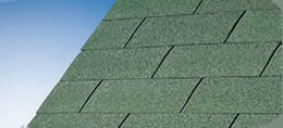 Bourne Green Felt Shingles