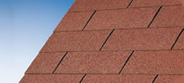 Bourne Red Felt Shingles