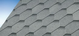Hexham Grey Felt Shingles