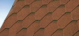 Hexham Red Felt Shingles