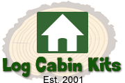 Cheap 34mm Wall Log Cabins