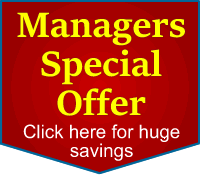 Managers Special offer for huge savings