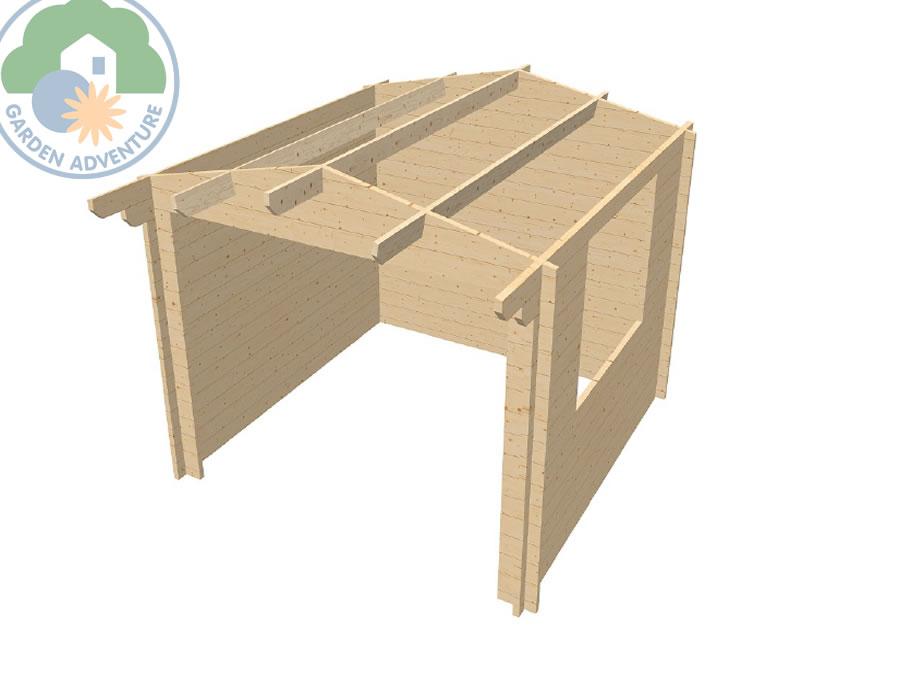 Helston 3x3 Log Cabin