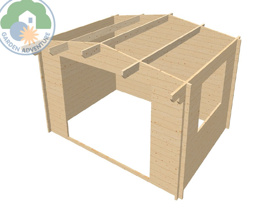 Helston 4x3 Log Cabin