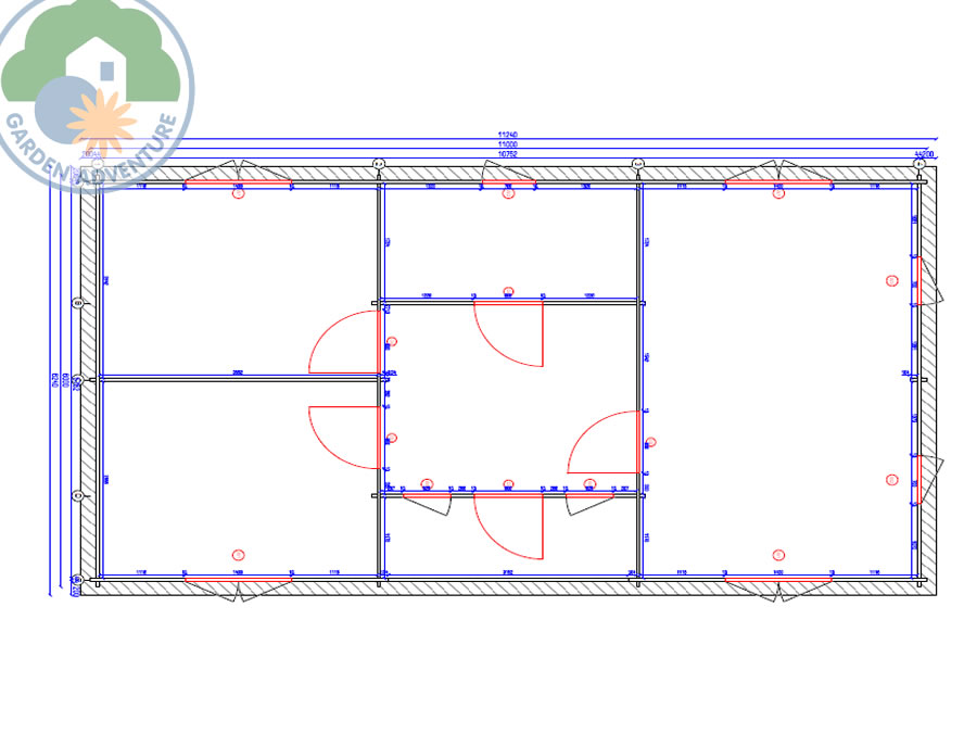 Chamonix Plan View (Large~)