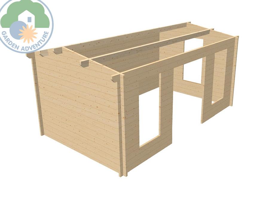 Redruth 5x3 Log Cabin