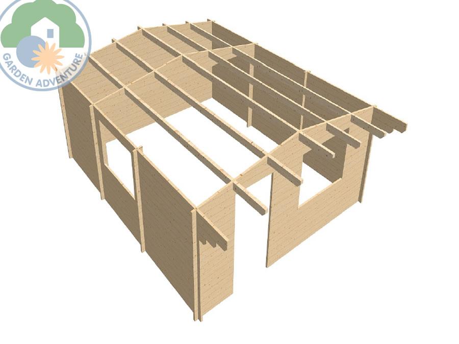 Devon 5x6 Log Cabin