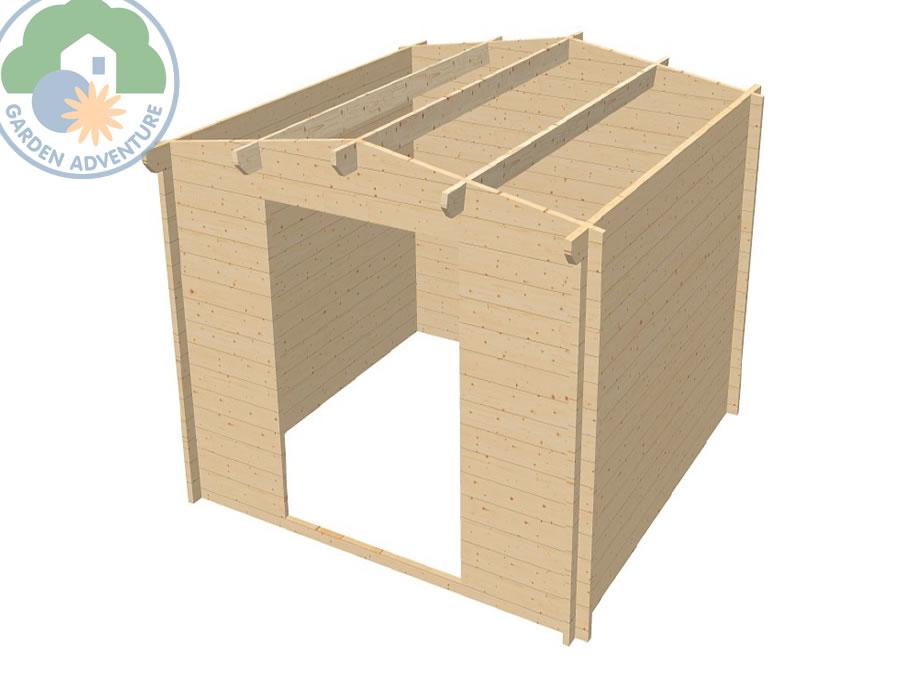 Ascot 3x3 Log Cabin
