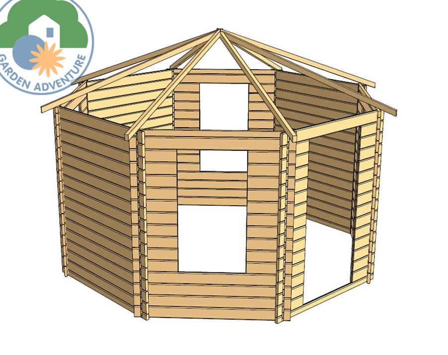 Norbury Log Cabin