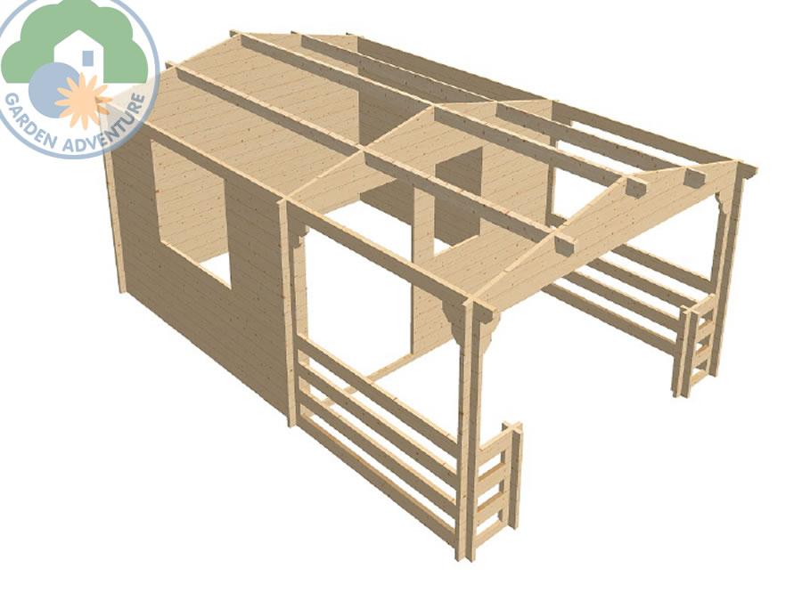Spa Log Cabin
