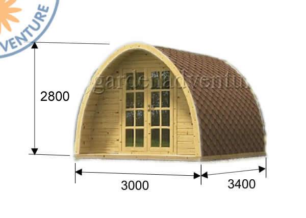 Camping Pod 3x3 3d